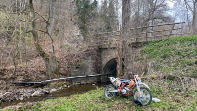 Unfall Motocross Tiefenbach